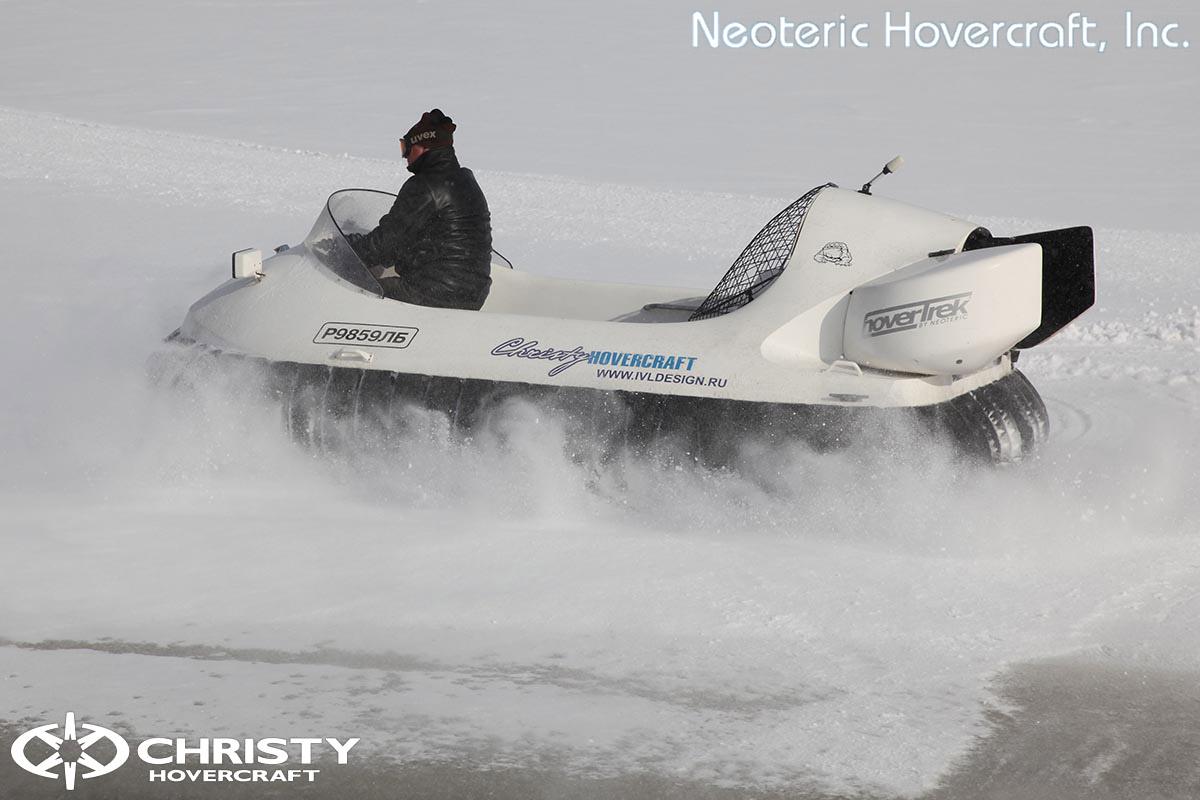 Катер на воздушной подушке Neoteric Hovertrek 455 (465) | фото №24