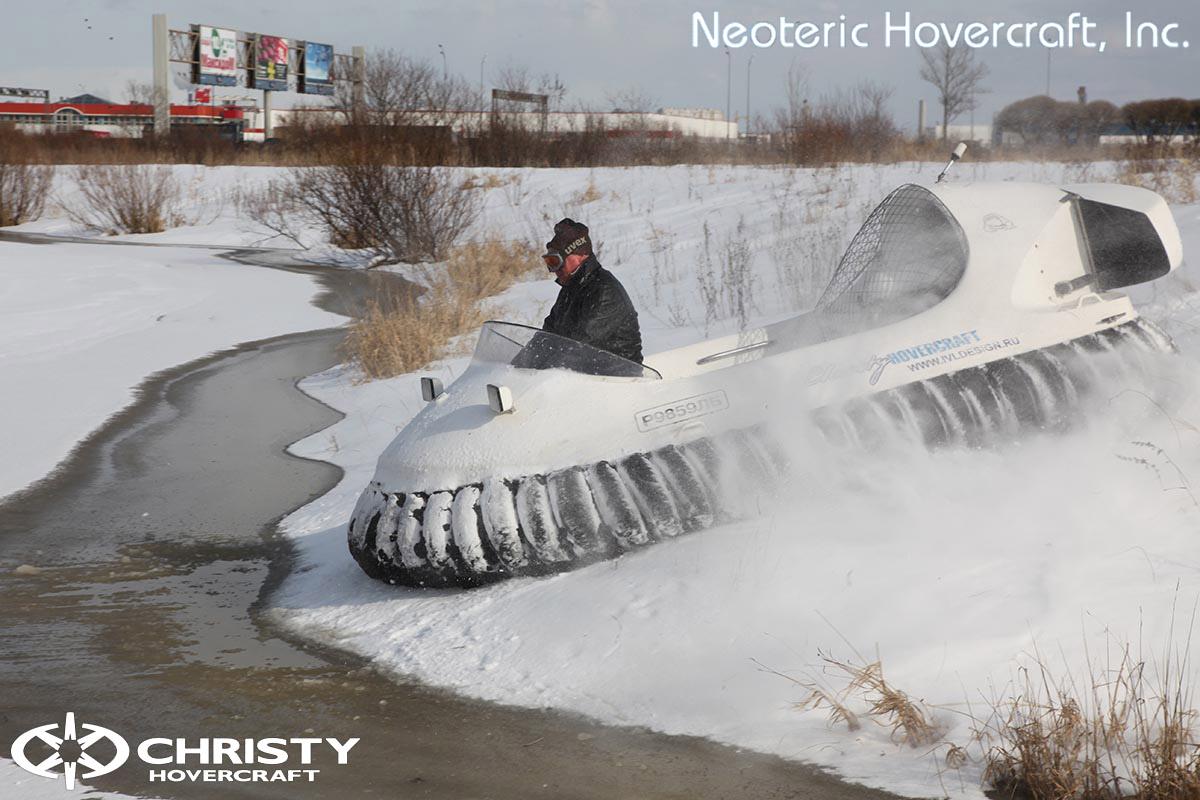 Катер на воздушной подушке Neoteric Hovertrek 455 (465) | фото №32