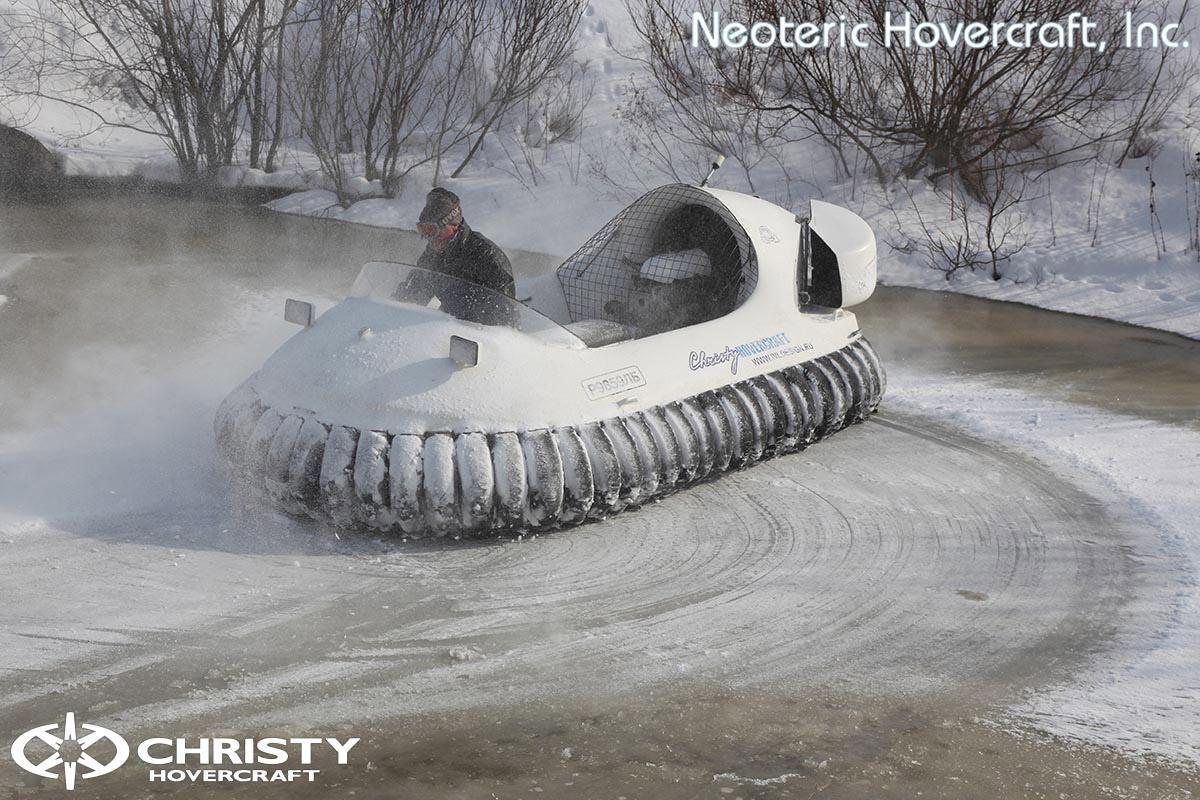 Катер на воздушной подушке Neoteric Hovertrek 455 (465) | фото №28