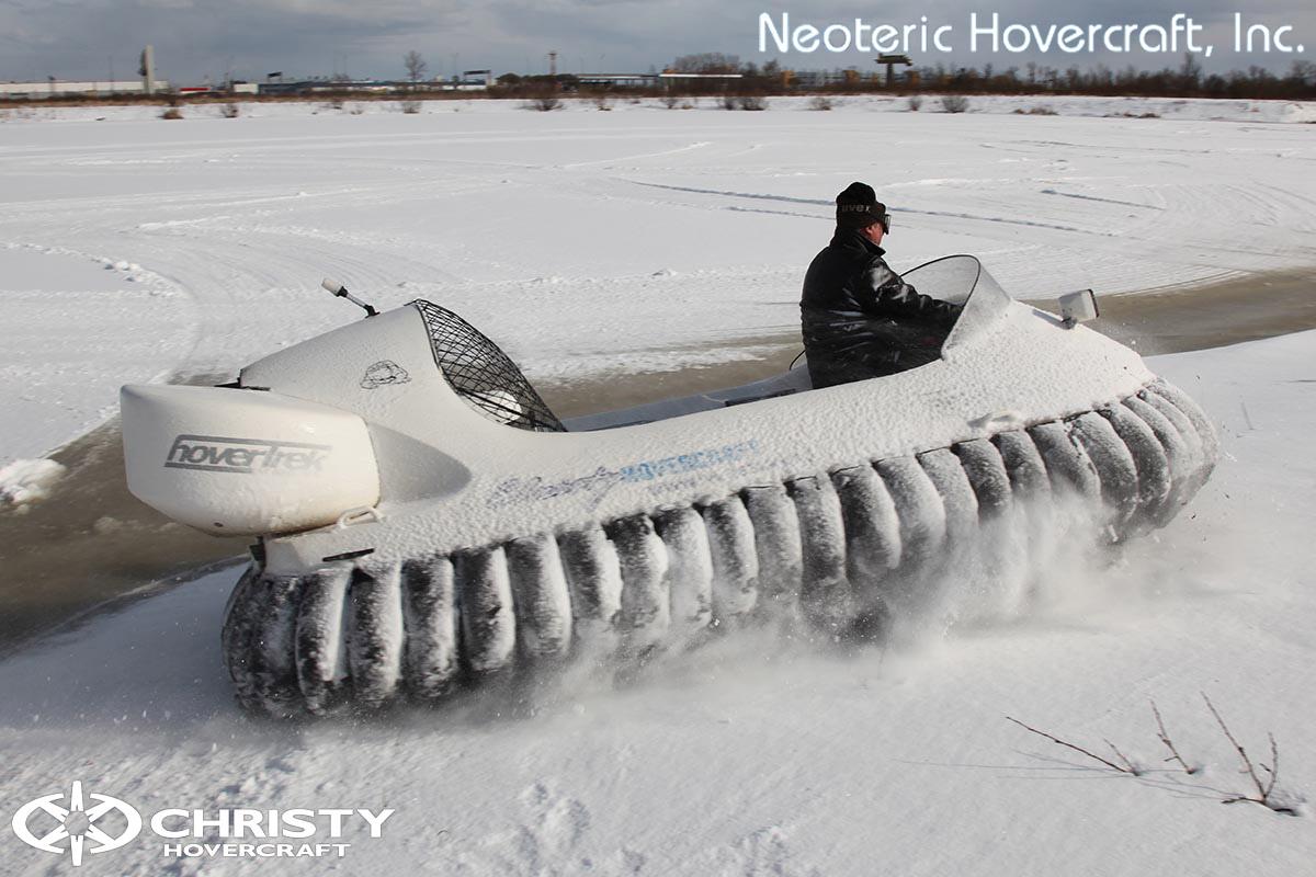 Катер на воздушной подушке Neoteric Hovertrek 455 (465) | фото №5