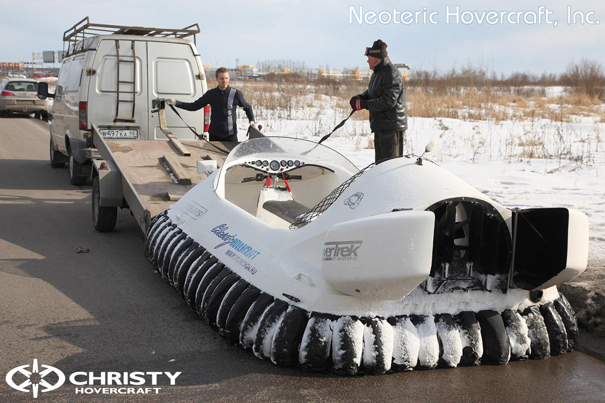 Катер на воздушной подушке Neoteric Hovertrek 455 (465) | фото №45