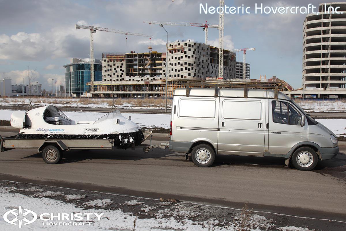 Катер на воздушной подушке Neoteric Hovertrek 455 (465) | фото №26
