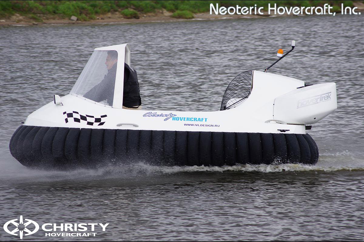 Катер на воздушной подушке Neoteric Hovertrek 455 (465) | фото №8