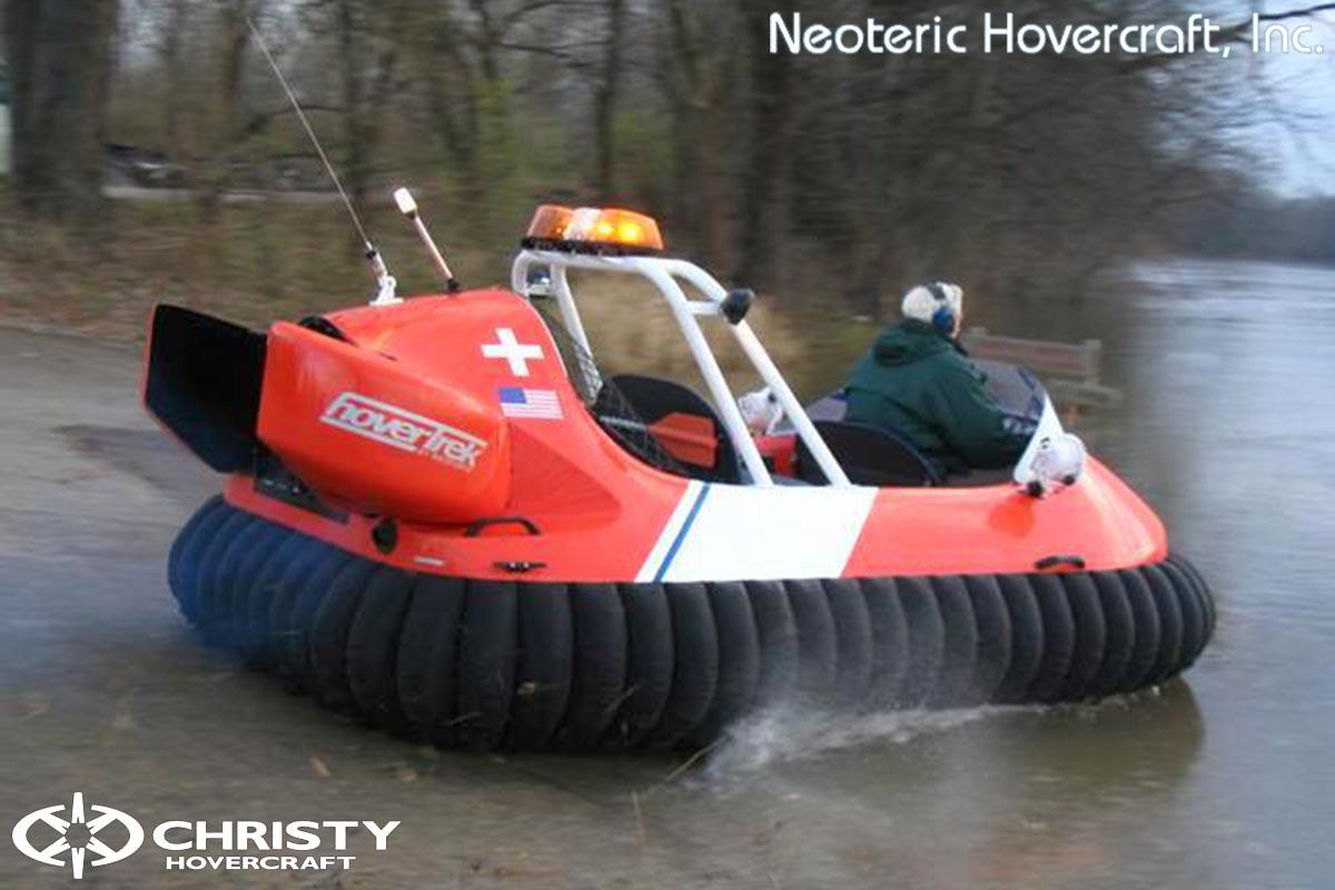 Спасательный катер на воздушной подушке Hovertrek 455 от Neoteric Hovercraft Inc | фото №20