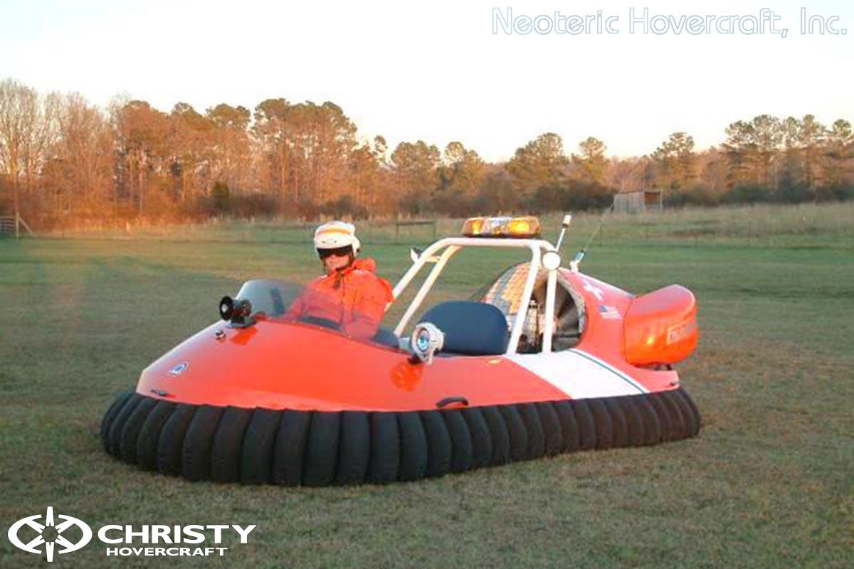 Спасательный катер на воздушной подушке Hovertrek 455 от Neoteric Hovercraft Inc | фото №38
