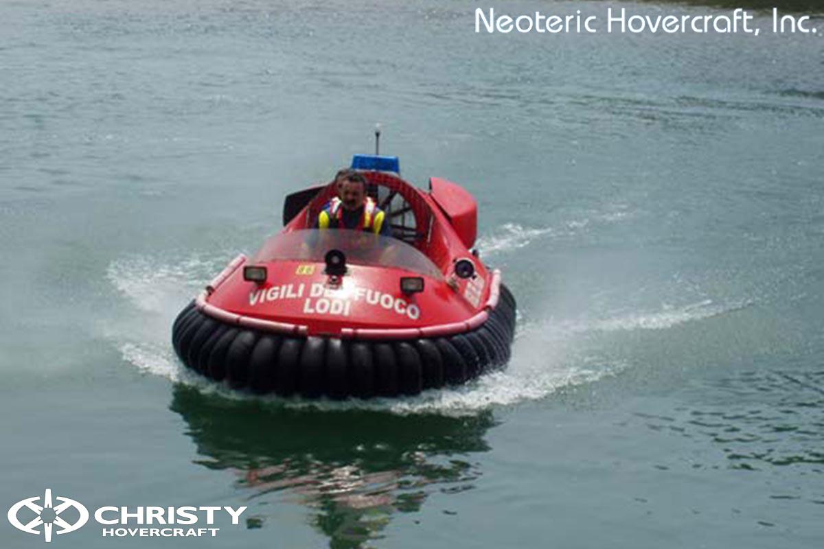 Спасательный катер на воздушной подушке Hovertrek 455 от Neoteric Hovercraft Inc