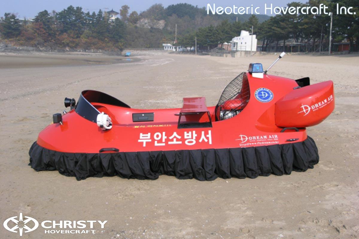 Спасательный катер на воздушной подушке Hovertrek 455 от Neoteric Hovercraft Inc | фото №4