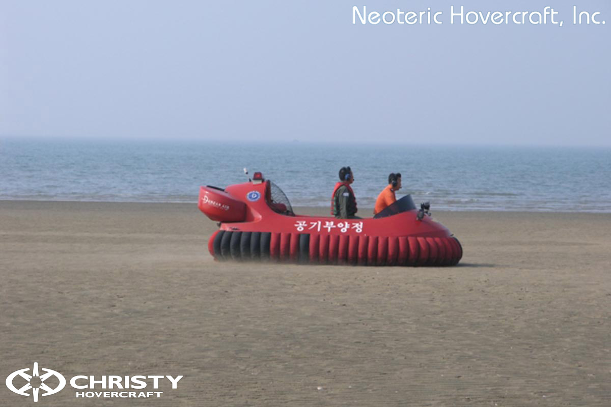 Спасательный катер на воздушной подушке Hovertrek 455 от Neoteric Hovercraft Inc | фото №41