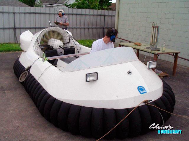 Катер на воздушной подушке - Neoteric Hovertrek 6100L | фото №16