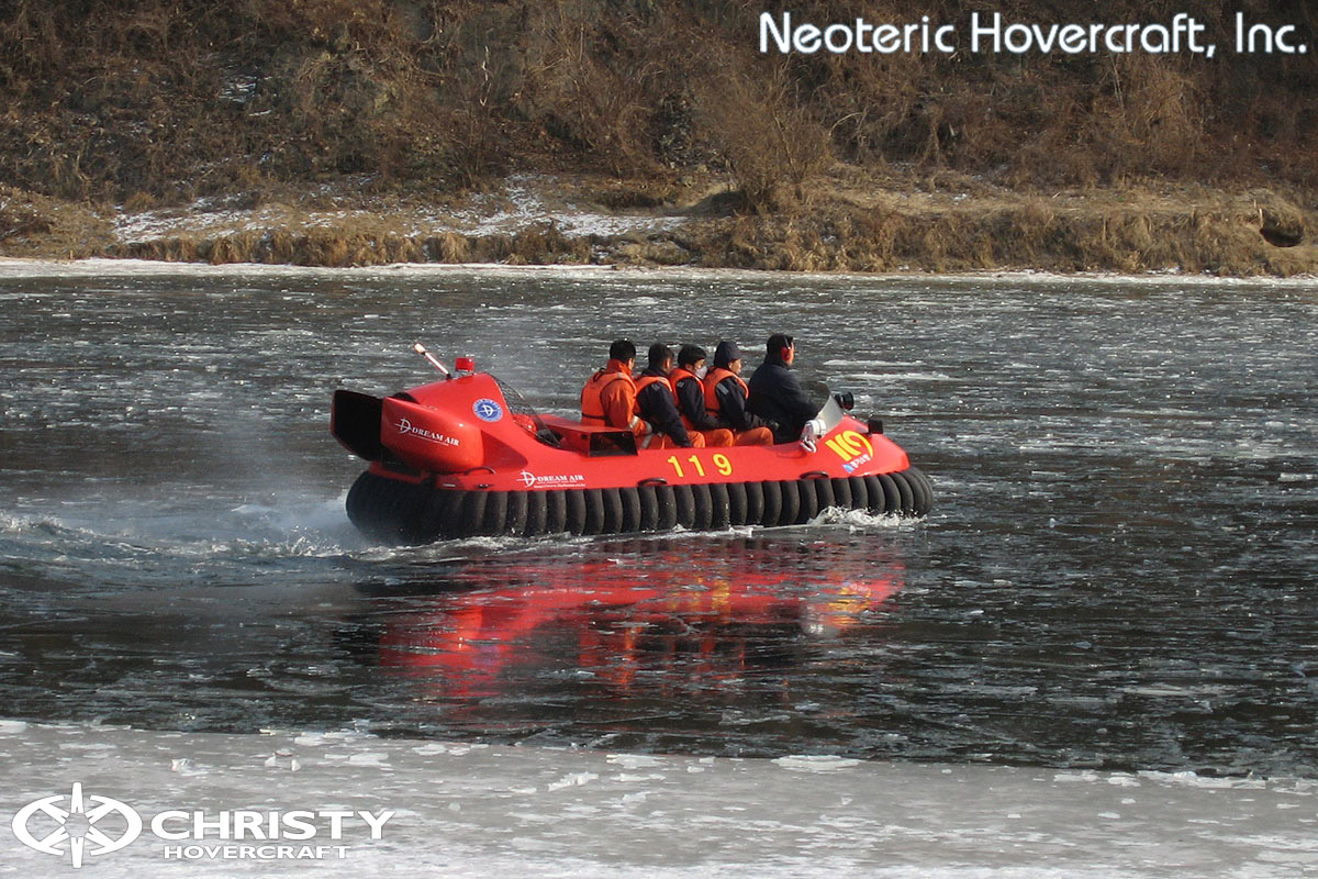 Катер на воздушной подушке - Neoteric Hovertrek 6100L | фото №14