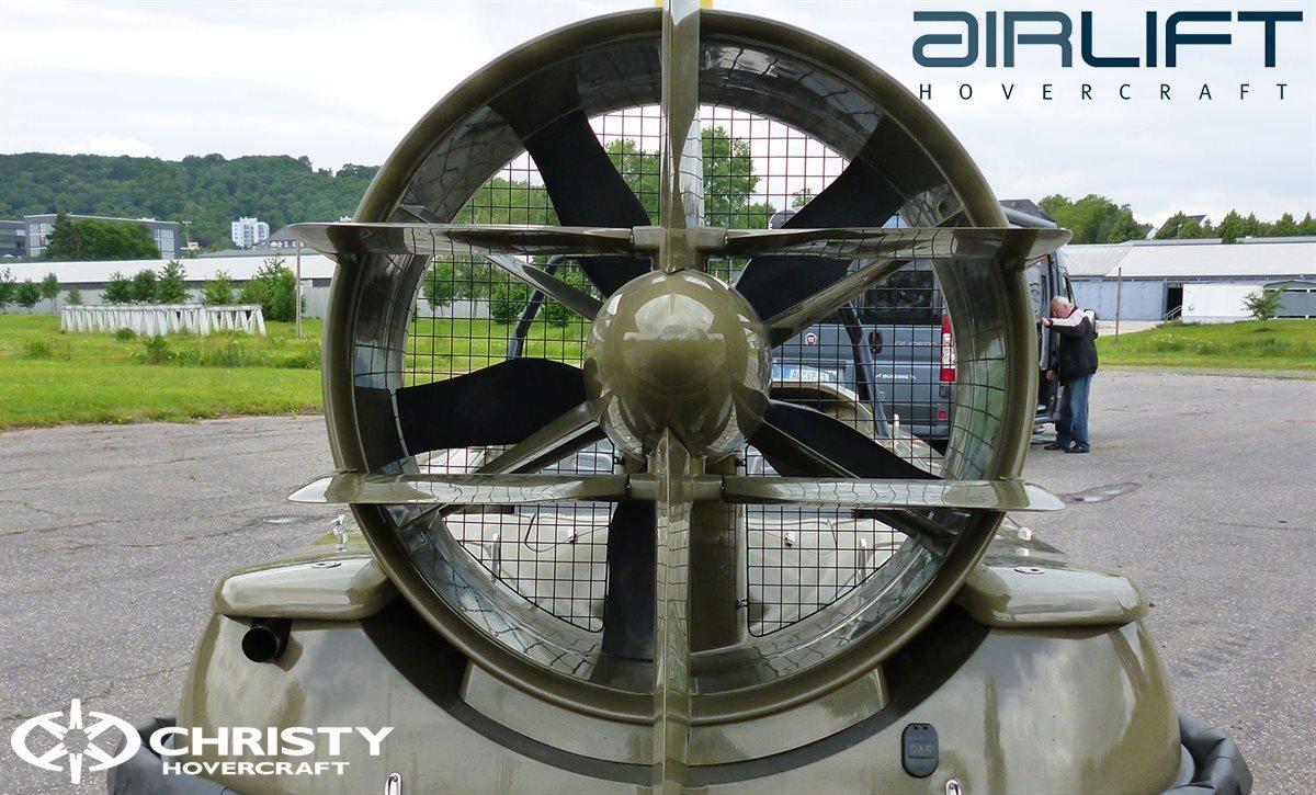Судно на воздушной подушке - Kaiman - Airlift Hovercraft