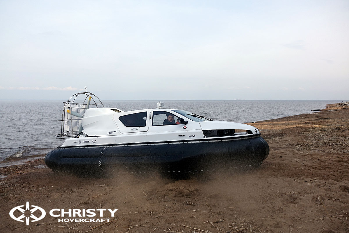 Амфибия на воздушной подушке Christy 6199 MK2