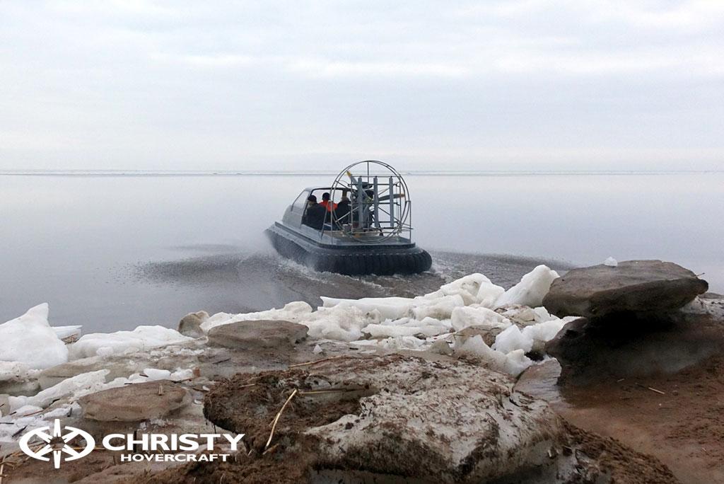 Заключительные испытания платформы Christy 555