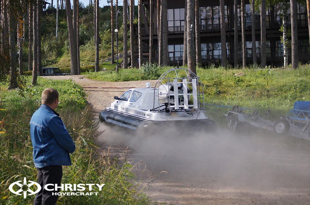 Фотографии от наших клиентов, использующих СВП Christy 6183 для рыбалки и охоты