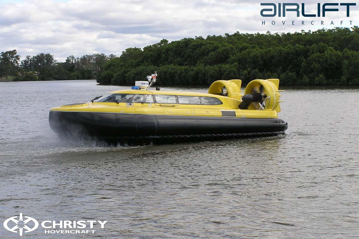 Коммерческий катер на воздушной подушке Pioneer MK3