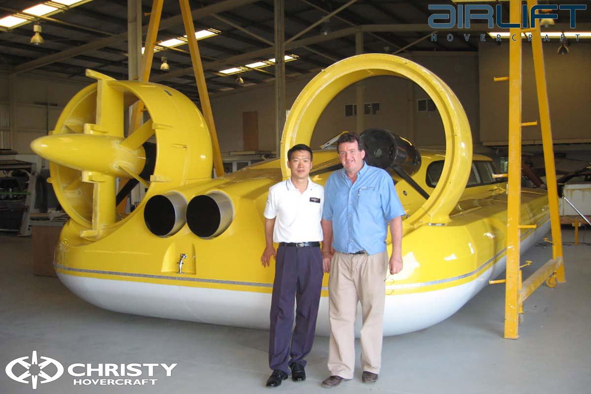 Коммерческий катер на воздушной подушке - Pioneer MK3