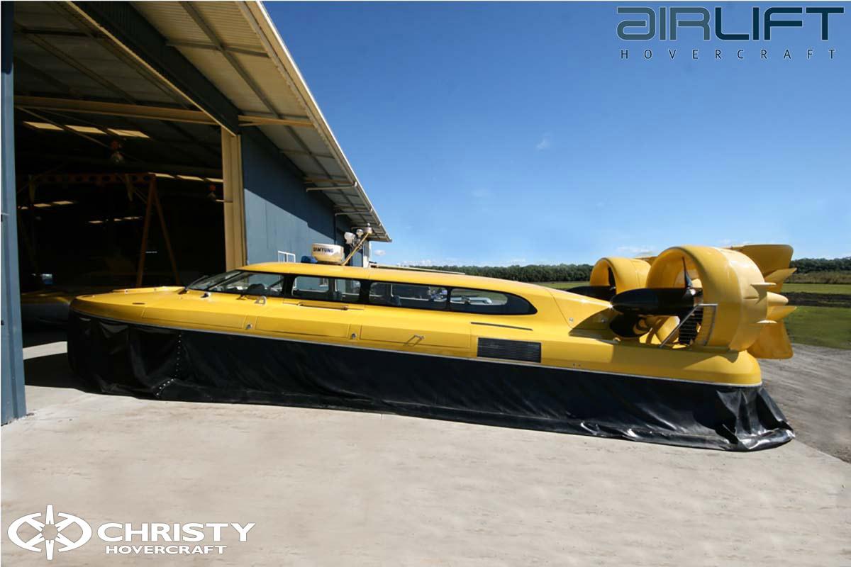 Коммерческий катер на воздушной подушке - Pioneer MK3 | фото №28