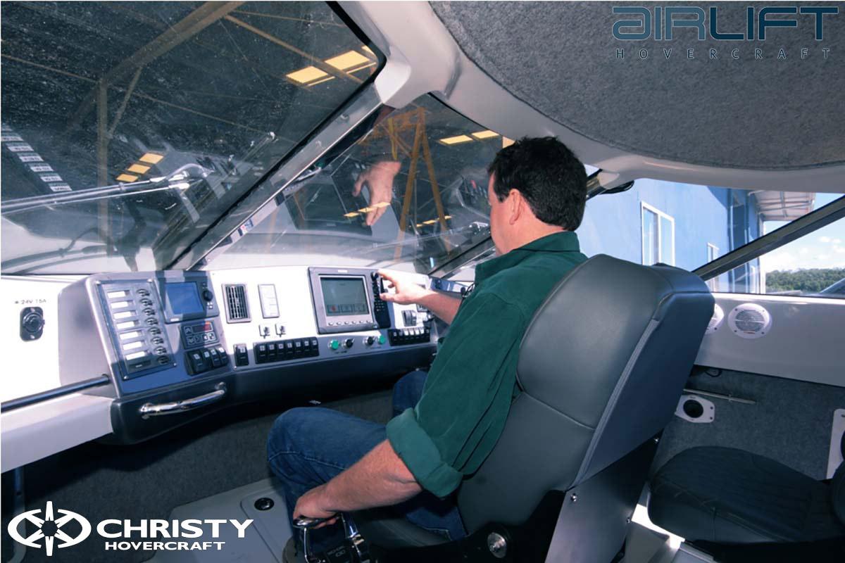 Коммерческий катер на воздушной подушке - Pioneer MK3 | фото №29