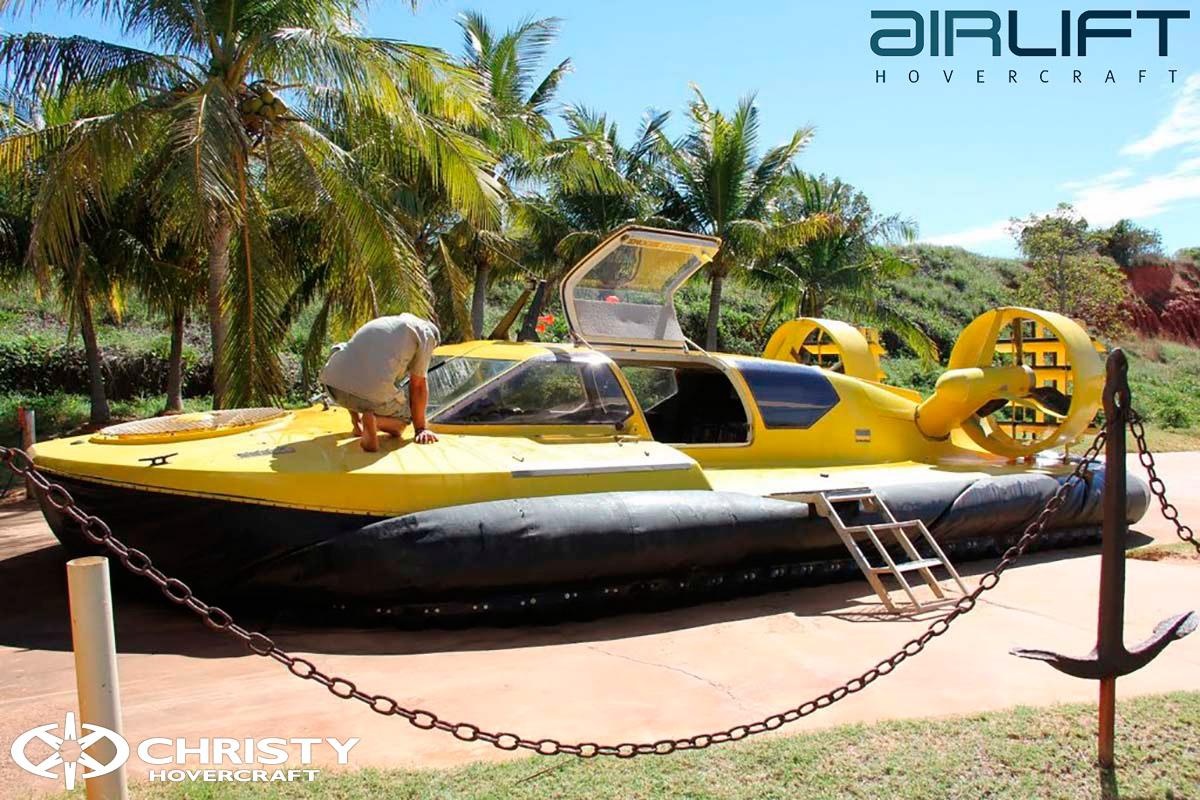 Коммерческий катер на воздушной подушке - Pioneer MK3 | фото №32
