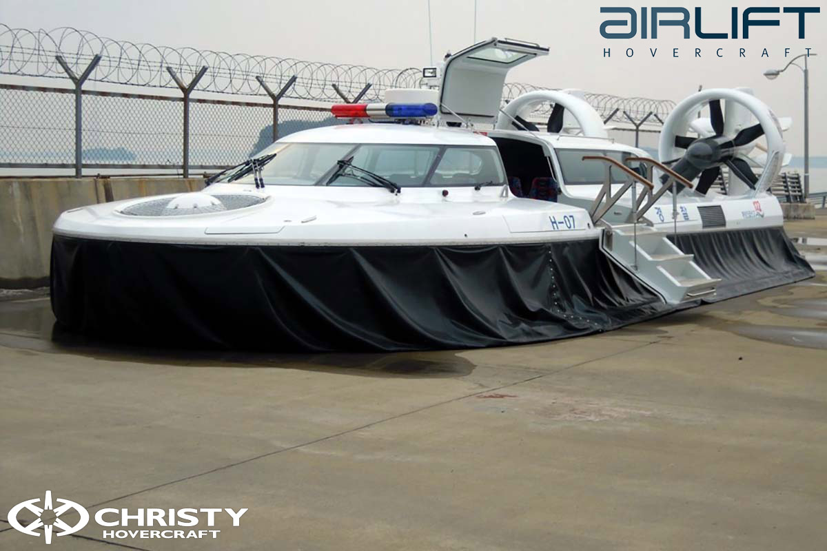Коммерческий катер на воздушной подушке - Pioneer MK3 | фото №33