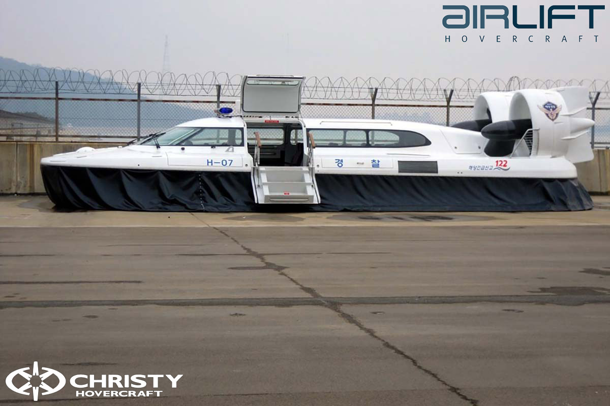 Коммерческий катер на воздушной подушке - Pioneer MK3 | фото №34