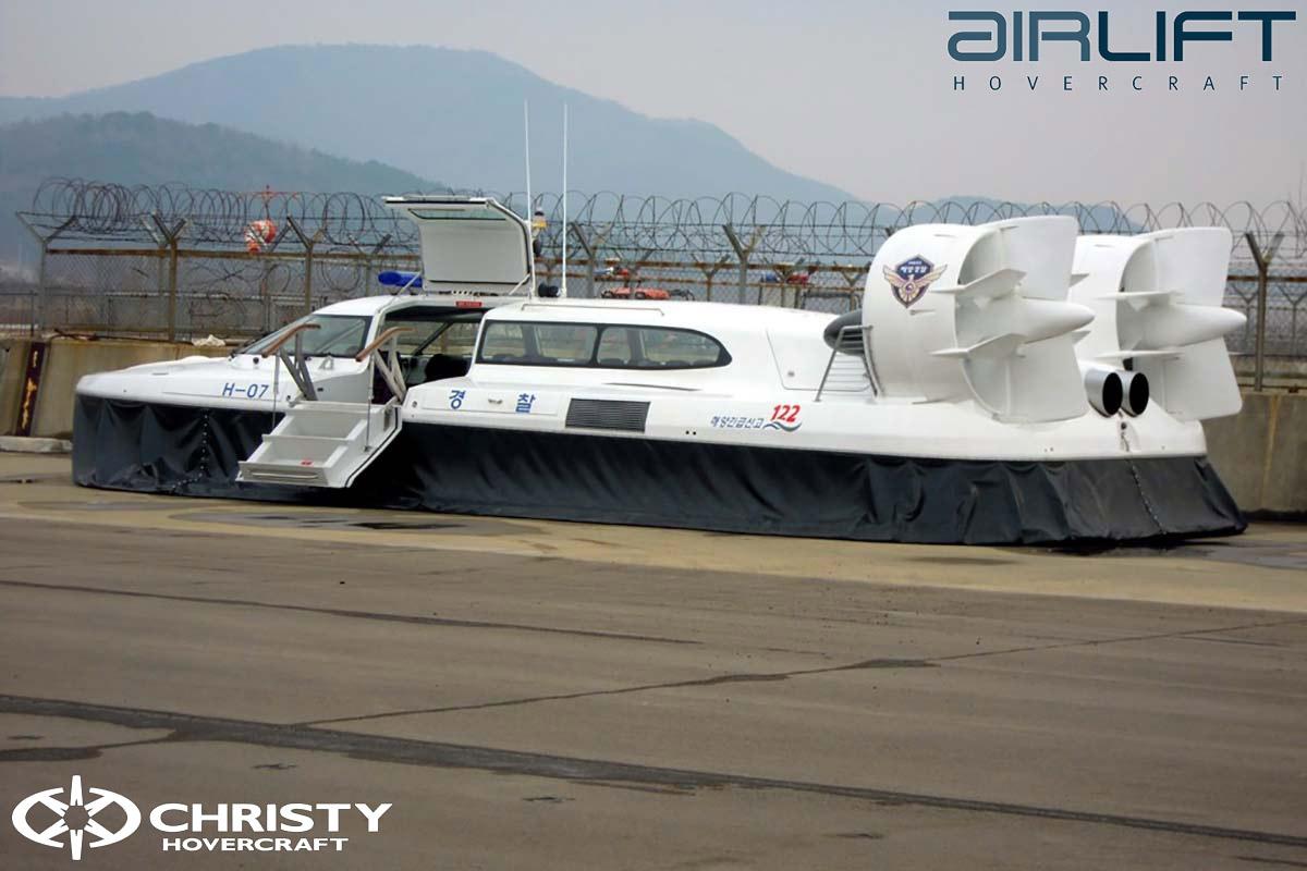 Коммерческий катер на воздушной подушке - Pioneer MK3 | фото №35