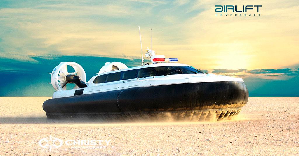 Коммерческий катер на воздушной подушке - Pioneer MK3 | фото №2