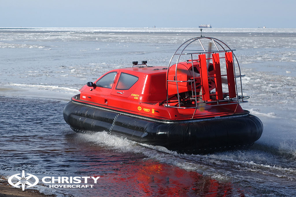Тест-драйв СВП Christy Hovercraft в сложных погодных условиях | фото №7