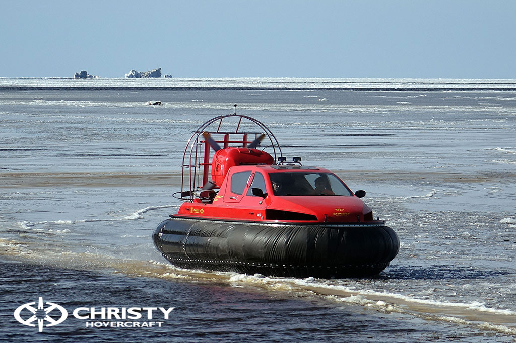 Тест-драйв СВП Christy Hovercraft в сложных погодных условиях | фото №8