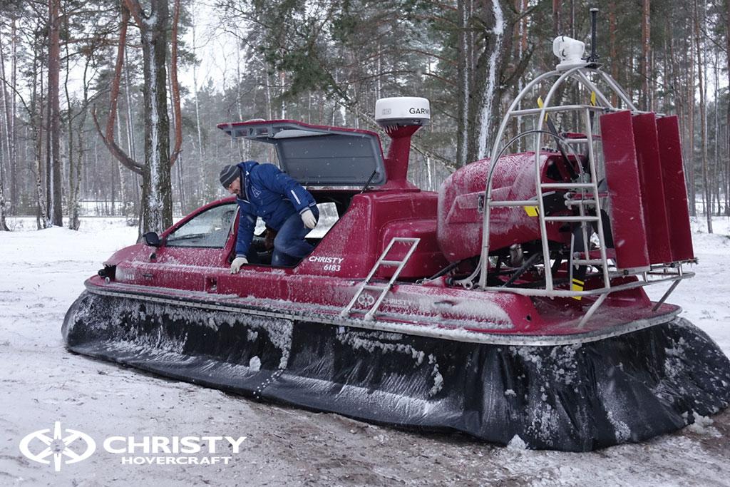 Тест-драйв лодки Christy 6183 в сложных метеоусловиях | фото №18
