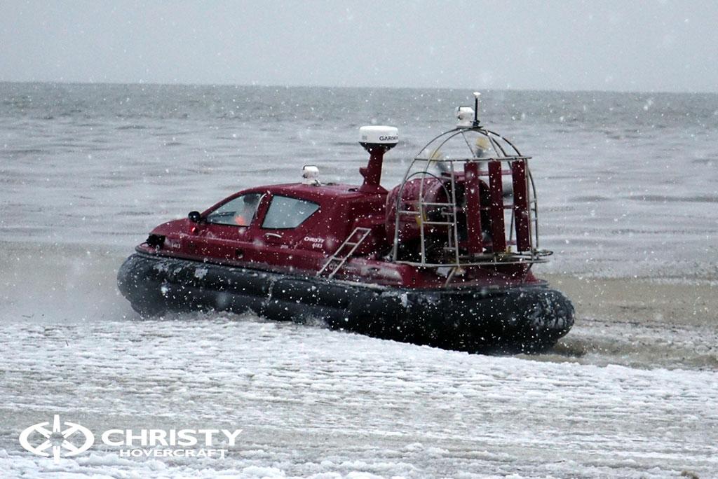 Тест-драйв катера Christy 6183 в сложных метеоусловиях | фото №19