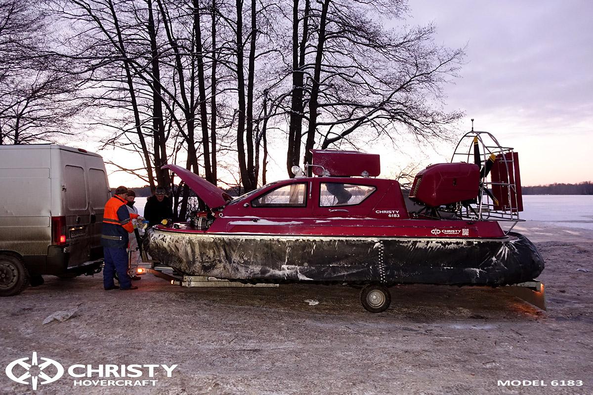 Погрузка и разгрузка судна на воздушной подушке | фото №10