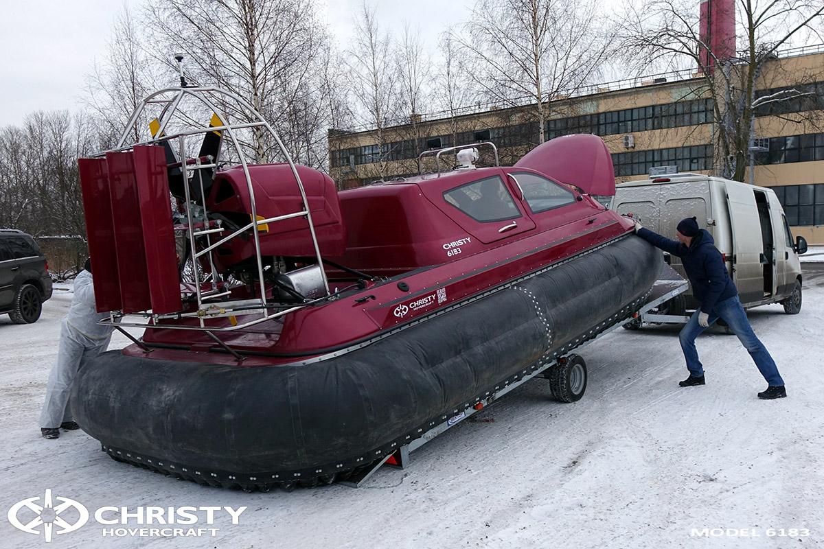Погрузка/разгрузка судна на воздушной подушке | фото №12