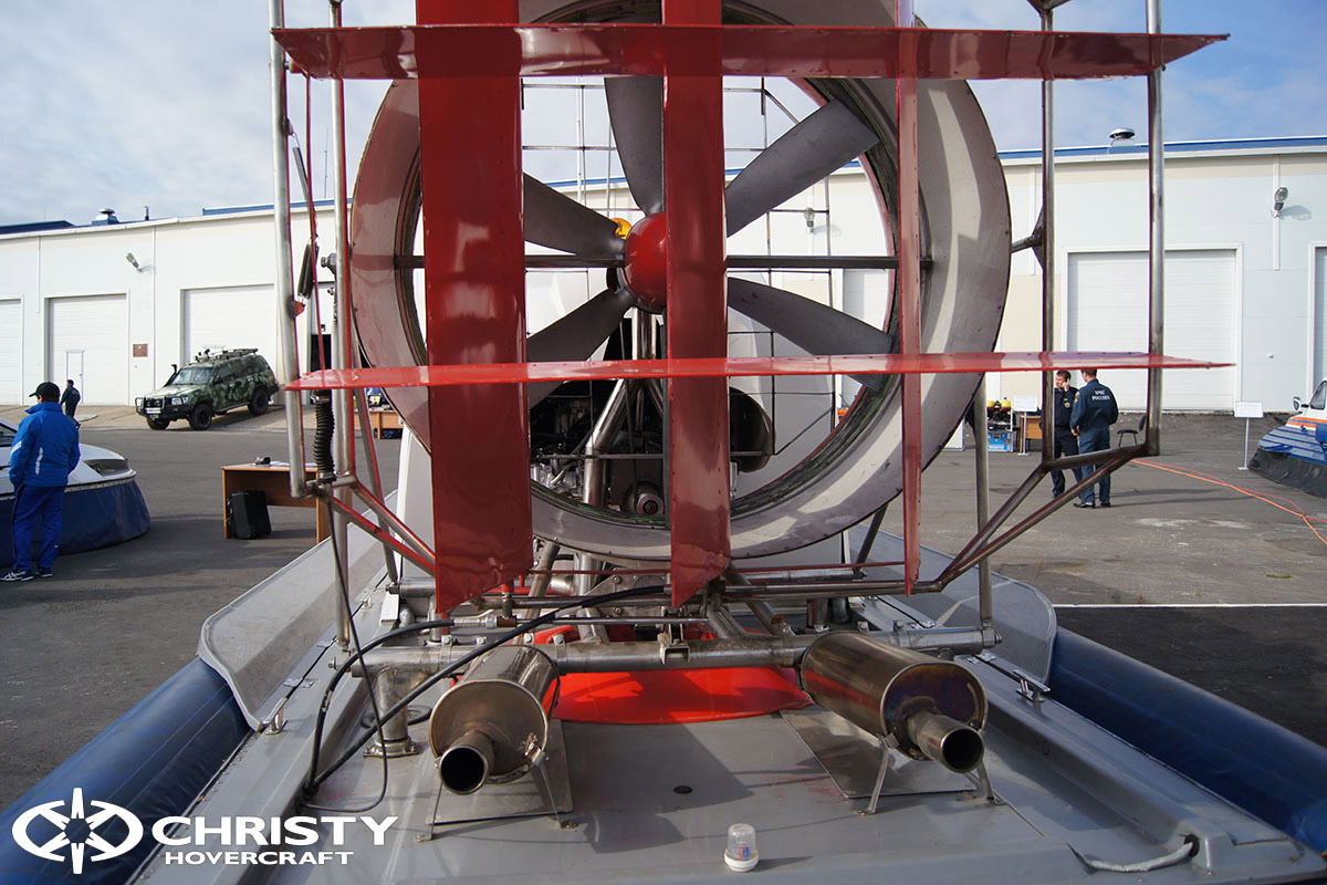 Катера на воздушной подушке Christy Hovercraft - Презентация МЧС