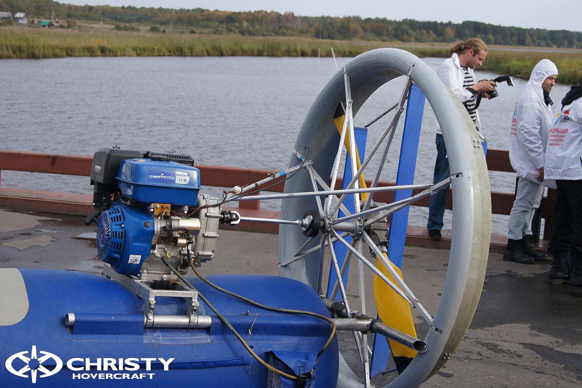 Christy Hovercraft — презентация для МЧС | фото №20