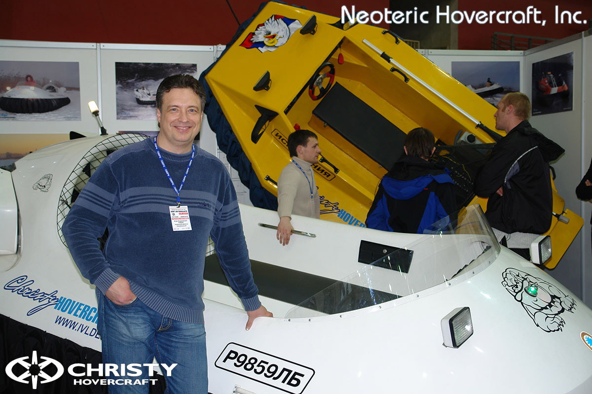 Катера на воздушной подушке Christy Hovercraft | фото №1