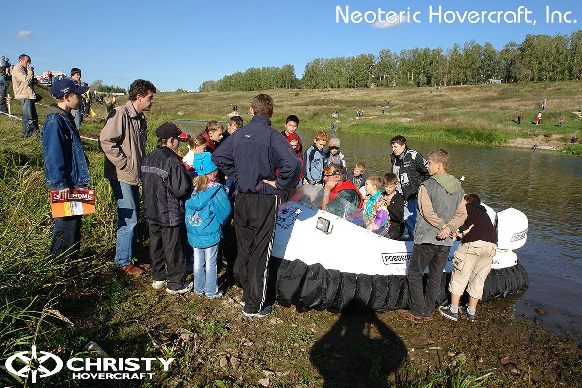 Катера на воздушной подушке Christy Hovercraft | фото №10