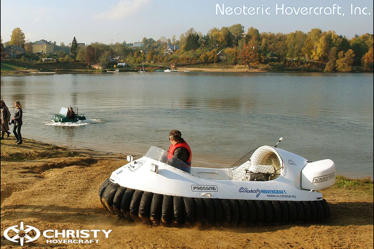 Катера на воздушной подушке Christy Hovercraft | фото №20