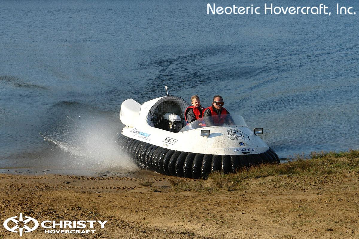 Катера на воздушной подушке Christy Hovercraft | фото №24