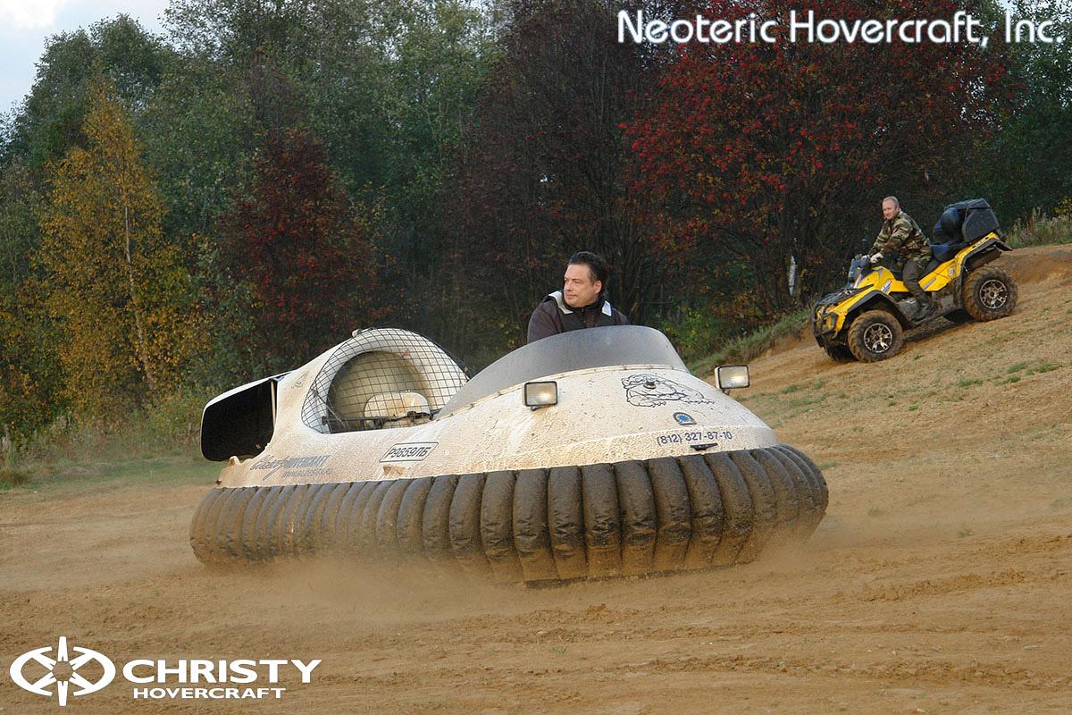 Катера на воздушной подушке Christy Hovercraft | фото №27