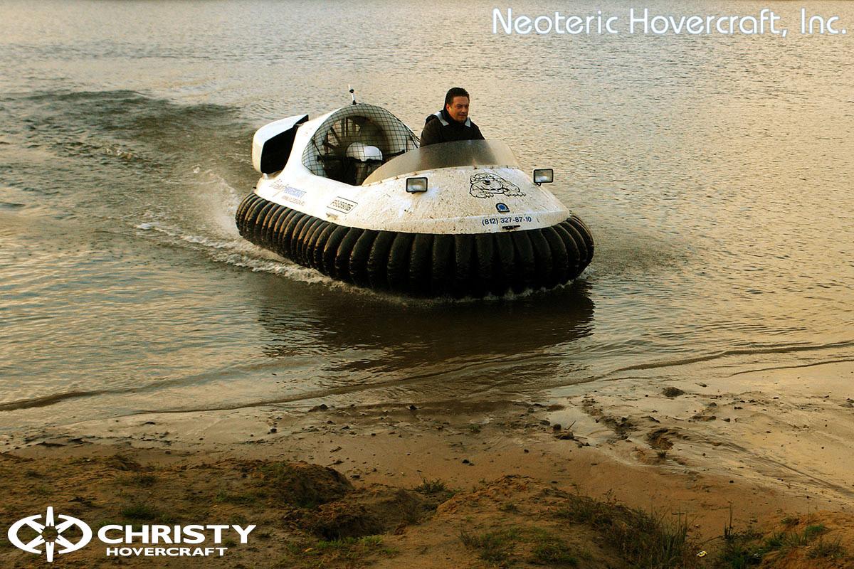 Катера на воздушной подушке Christy Hovercraft | фото №33