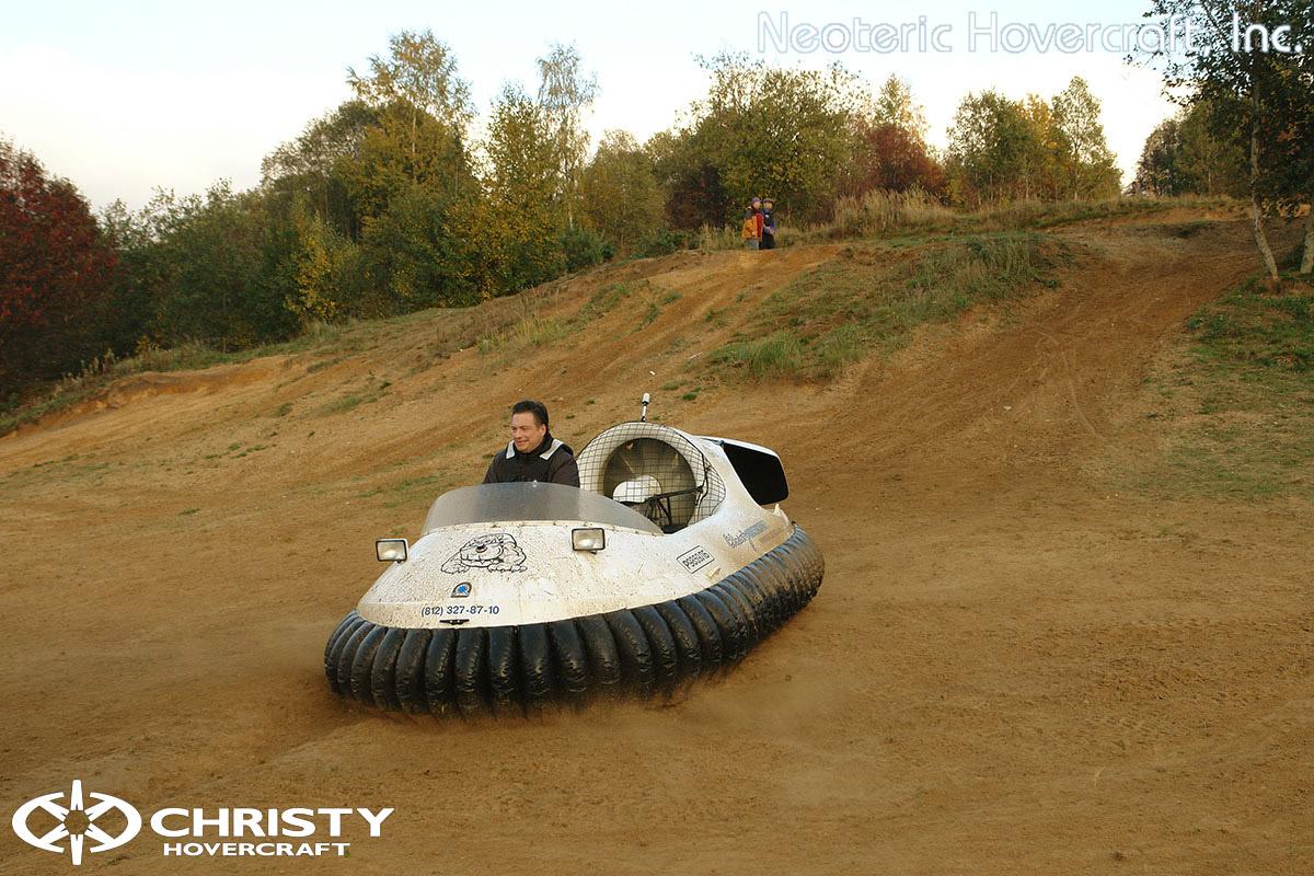 Катера на воздушной подушке Christy Hovercraft | фото №35