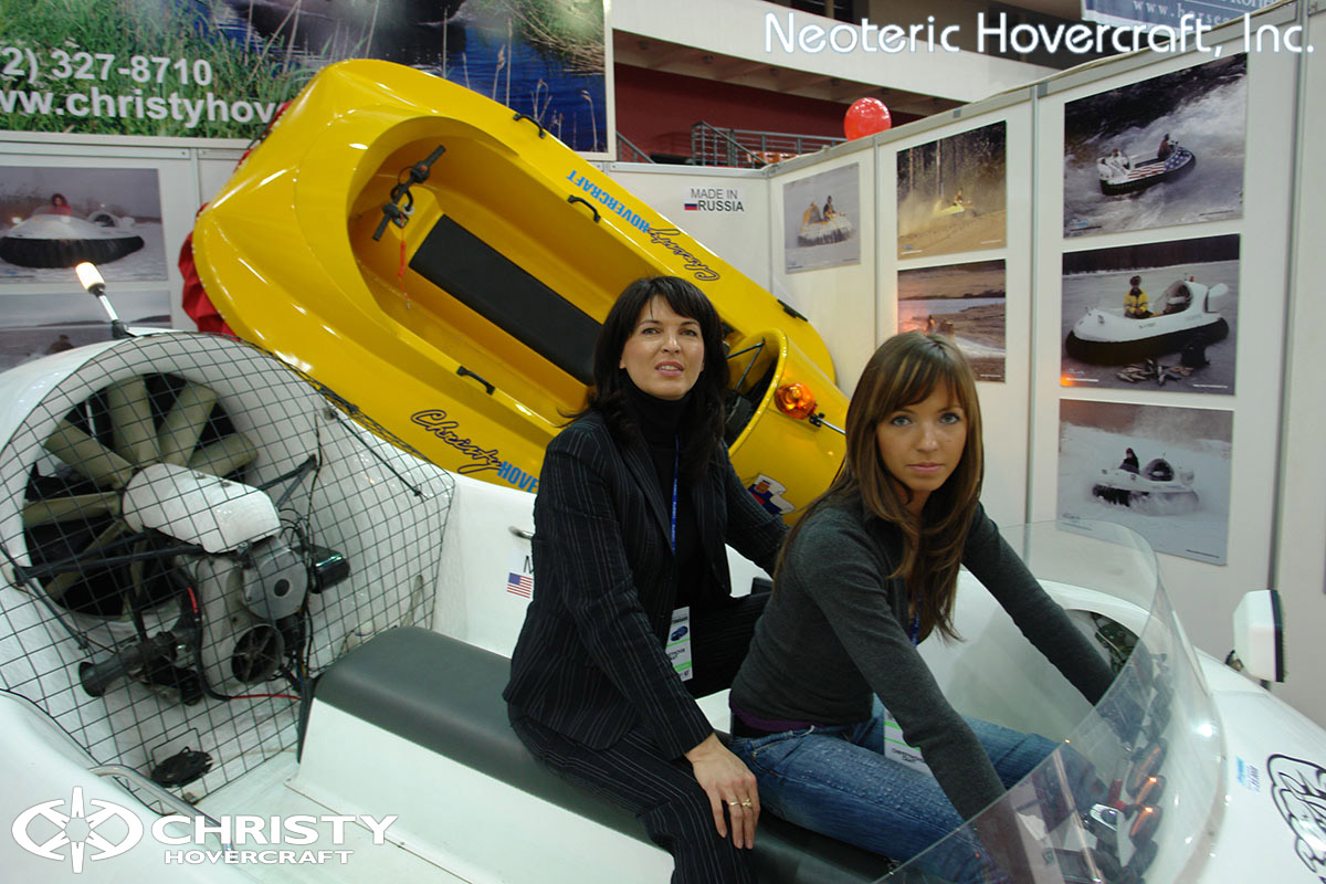 Катера на воздушной подушке Christy Hovercraft | фото №38