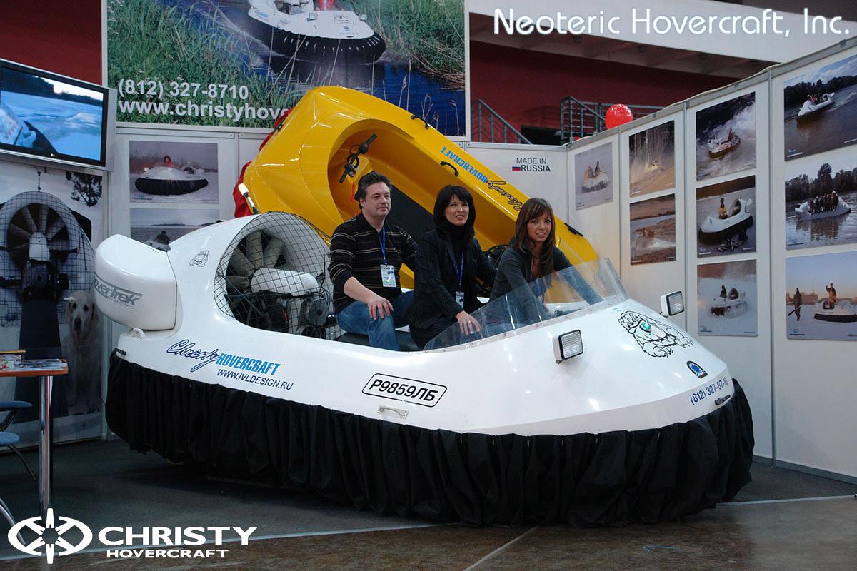 Катера на воздушной подушке Christy Hovercraft | фото №39