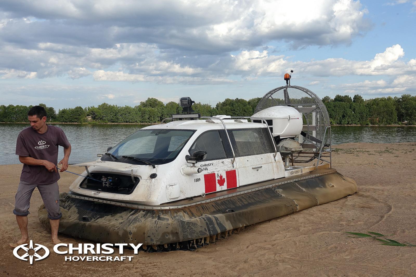 Тест-драйв Christy 5146 FC перед отправкой в Канаду