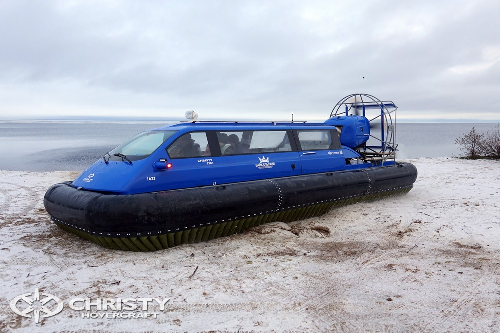 речное судно на воздушной подушке Christy 9205. Фото-обзор тест-драйва | фото №8