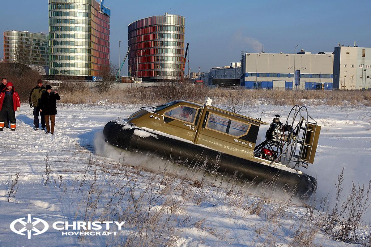 Тест-драйв Christy 555 FC с полной кабиной | фото №3