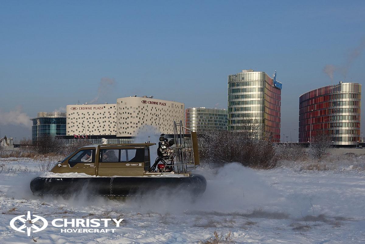 Тест-драйв Christy 555 FC с полной кабиной | фото №8