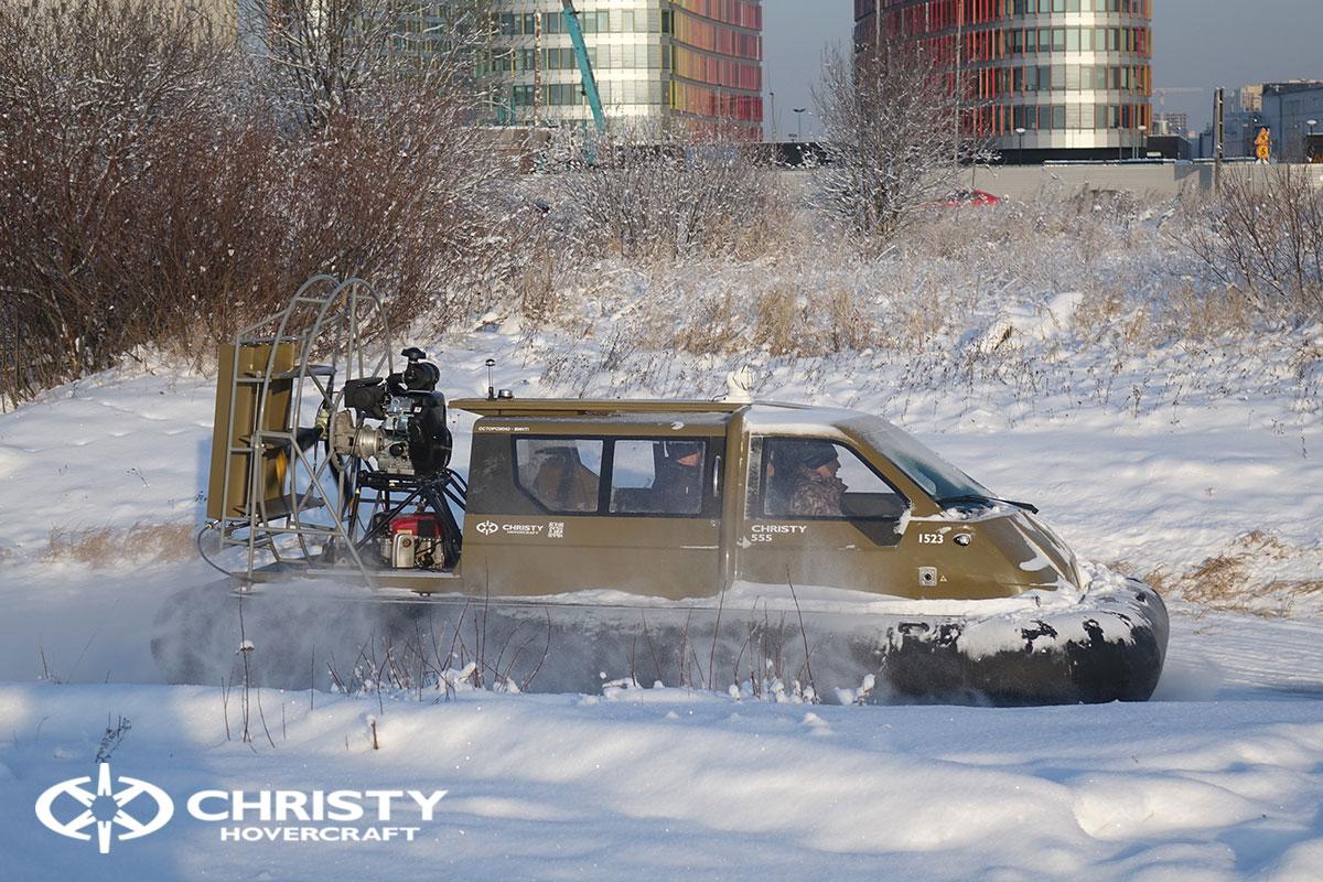 Тест-драйв Christy 555 FC с полной кабиной