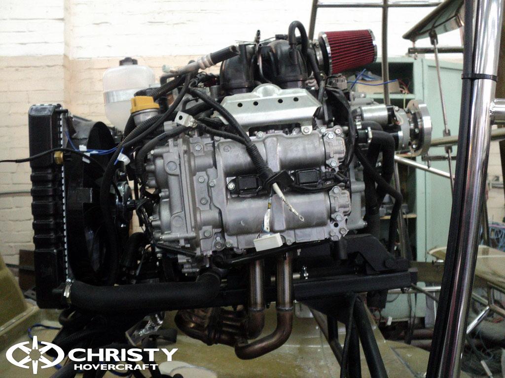 Christy 6183 с двигателем Subaru FB20 | фото №2